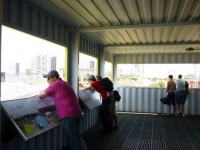 A Shipping Container Cafe View Tube on the London Olympic Site 5