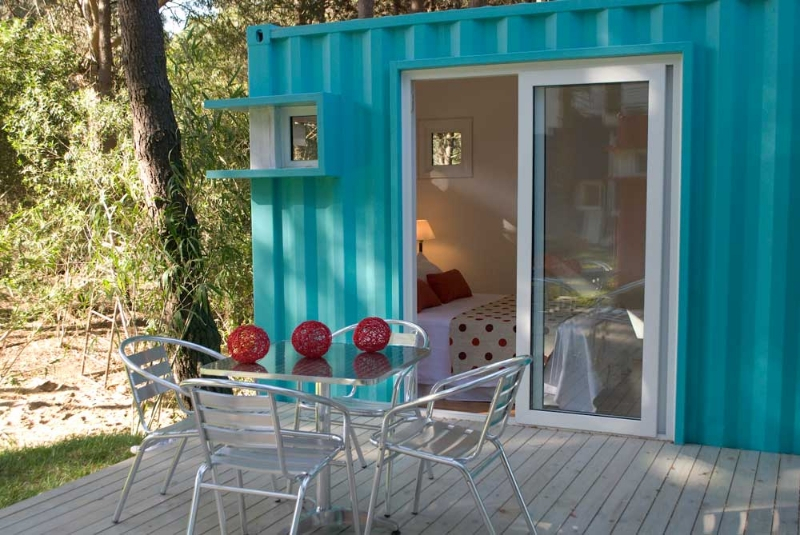 Shipping container guest house at alterra pinamar beach resort - Most beautiful shipping container guest house ...