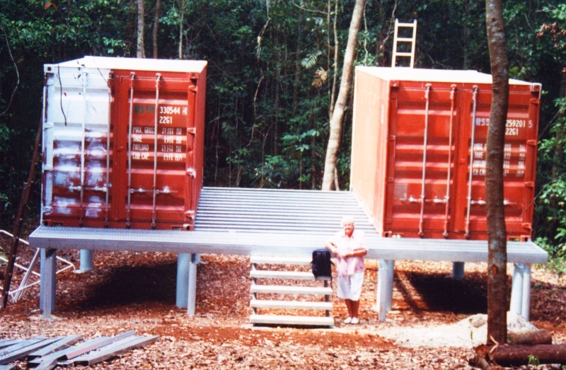 Shipping container shelter in australia - How to make a home from shipping containers in new ...