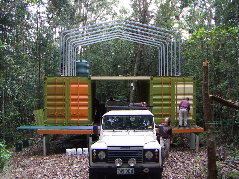 Shipping container shelter in australia - Container homes queensland ...