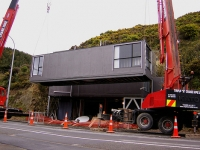 Cliffside Shipping Container Home in New Zealand 8
