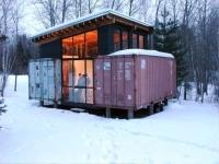 Holyoke Cabin - shipping container cabin