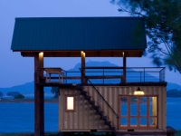 Lakeside Shipping Container Retreat in Sri Lanka 1