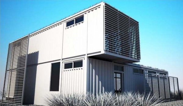 Linterna group shipping container architects for Cargo home designs