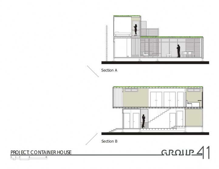 Linterna group shipping container architects - Container home construction details ...