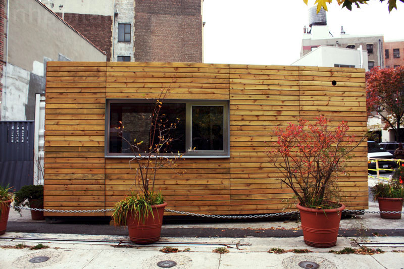 Popping up in nyc - Australian container homes ...