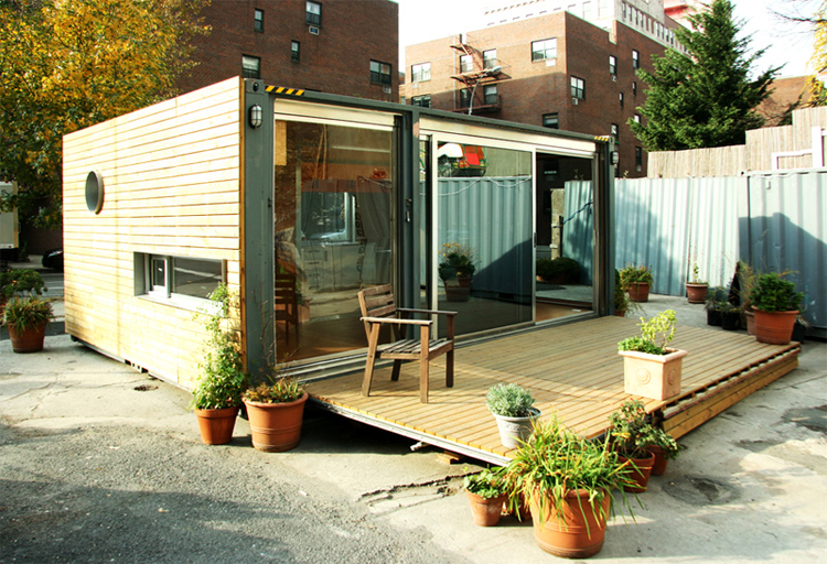 Popping up in nyc - Benefits of shipping container homes ...