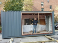 MEKA Shipping Container Home Pops Up in NY 1