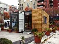 MEKA Shipping Container Home Pops Up in NY 10