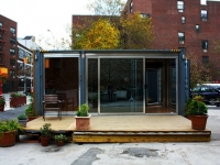 MEKA Shipping Container Home Pops Up in NY 14