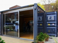MEKA Shipping Container Home Pops Up in NY 15