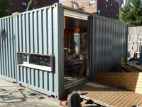 MEKA Shipping Container Home Pops Up in NY 7