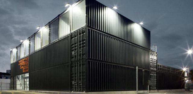 Shipping Container Building In Gwangju Korea