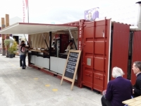 Rugby World Cup 2011 Pop Up Shipping Containers 13