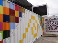 Rugby World Cup 2011 Pop Up Shipping Containers 5
