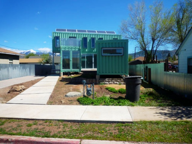 Shipping Container Home Flagstaff AZ 640 x 480