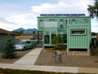 Six Recycled Shipping Container Home Flagstaff 1