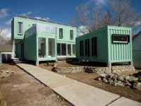 Six Recycled Shipping Container Home Flagstaff 13