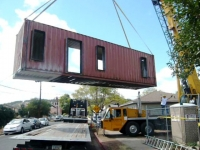 Six Recycled Shipping Container Home Flagstaff 19