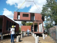 Six Recycled Shipping Container Home Flagstaff 20