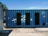 Six Recycled Shipping Container Home Flagstaff  21