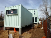 Six Recycled Shipping Container Home Flagstaff  25