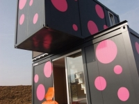 The 2+ Weekend House - A Shipping Container Home in Trebnje, Slovenia 4