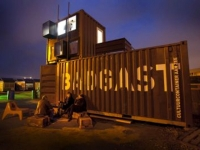 The BadGast Shipping Container Artist-in-Residence Studio 1