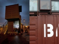 The BadGast Shipping Container Artist-in-Residence Studio 2