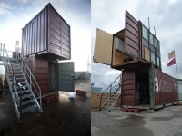 The BadGast Shipping Container Artist-in-Residence Studio 3