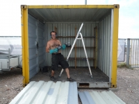 The BadGast Shipping Container Artist-in-Residence Studio 4