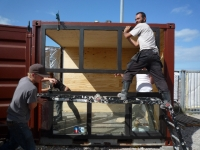 The BadGast Shipping Container Artist-in-Residence Studio 5