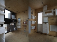 The BadGast Shipping Container Artist-in-Residence Studio 6
