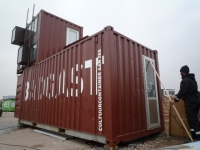 The BadGast Shipping Container Artist-in-Residence Studio 7