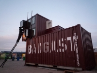 The BadGast Shipping Container Artist-in-Residence Studio 8