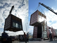 The BadGast Shipping Container Artist-in-Residence Studio 9