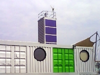 The Barking Riverside Marketing Suite Made From Shipping Containers 1