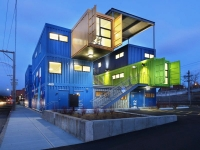 The Box Office Shipping Container Office Project in Providence, Rhode Island 2