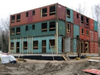 The Burks Falls Shipping Container Housing Project Ontario 2