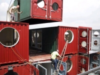 The Container City Project at Trinity Buoy Wharf, London's Docklands 2