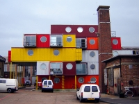 The Container City Project at Trinity Buoy Wharf, London's Docklands 8
