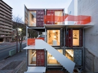The Daiken-Met Architects Shipping Container Office 1