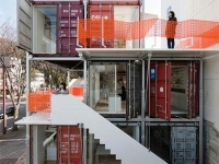 The Daiken-Met Architects Shipping Container Office 2