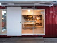 The Daiken-Met Architects Shipping Container Office 3