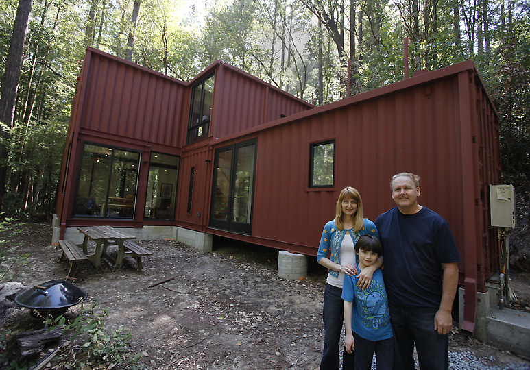 The dewitt and kasravi sea container home Containers turned into homes