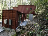 The DeWitt and Kasravi Shipping Container Home, Santa Cruz, USA