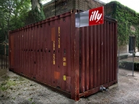 The illy Push Button Shipping Container House by Adam Kalkin 7