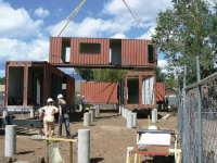 The Jones-Glotfelty Shipping Container Home, Flagstaff Arizona 2