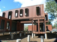 The Jones-Glotfelty Shipping Container Home, Flagstaff Arizona 3