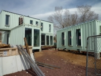 The Jones-Glotfelty Shipping Container Home, Flagstaff Arizona 6